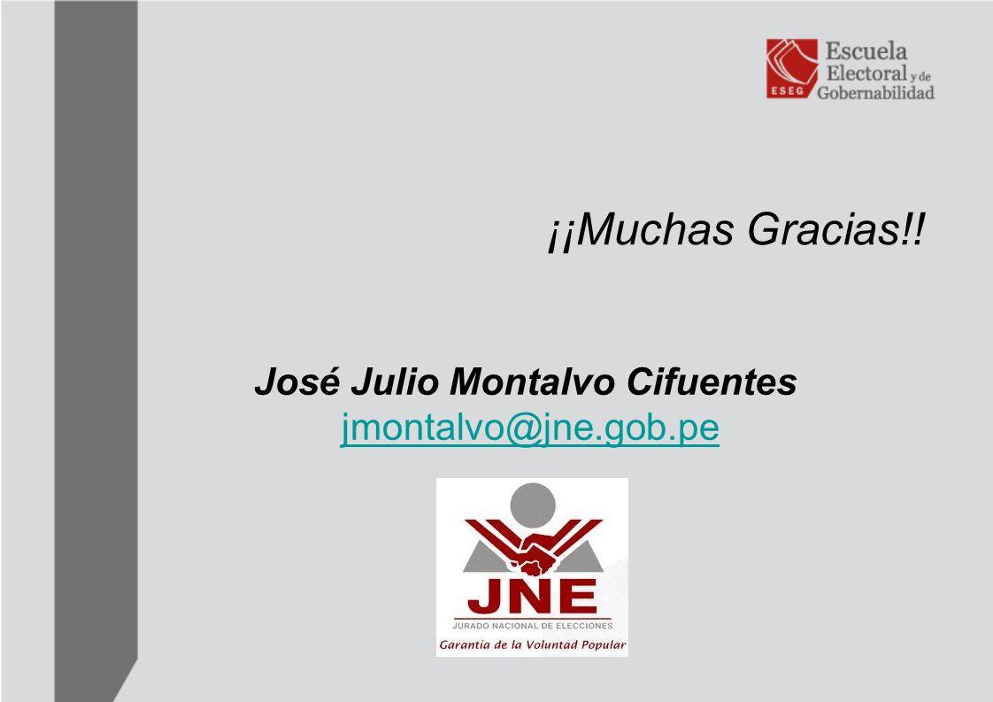 José Julio Montalvo Cifuentes