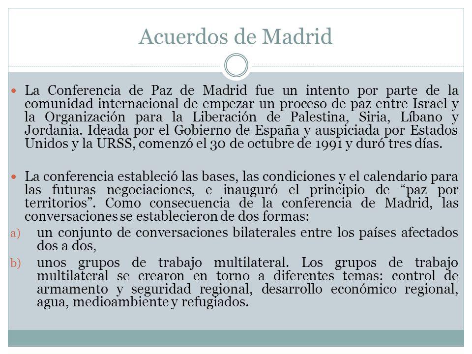 Acuerdos de Madrid