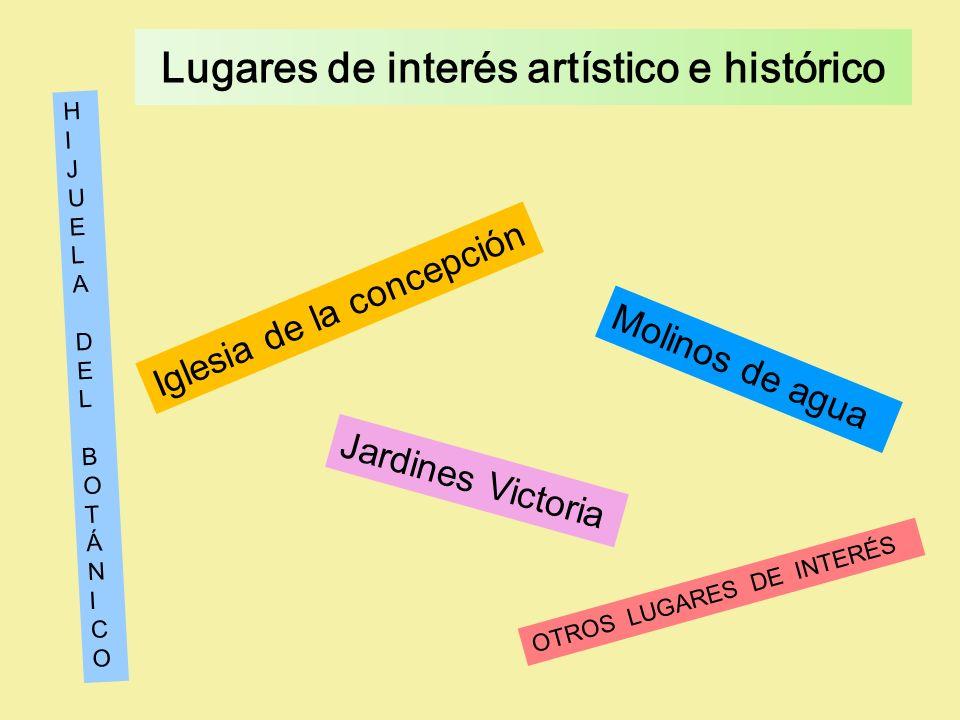 Lugares de interés artístico e histórico