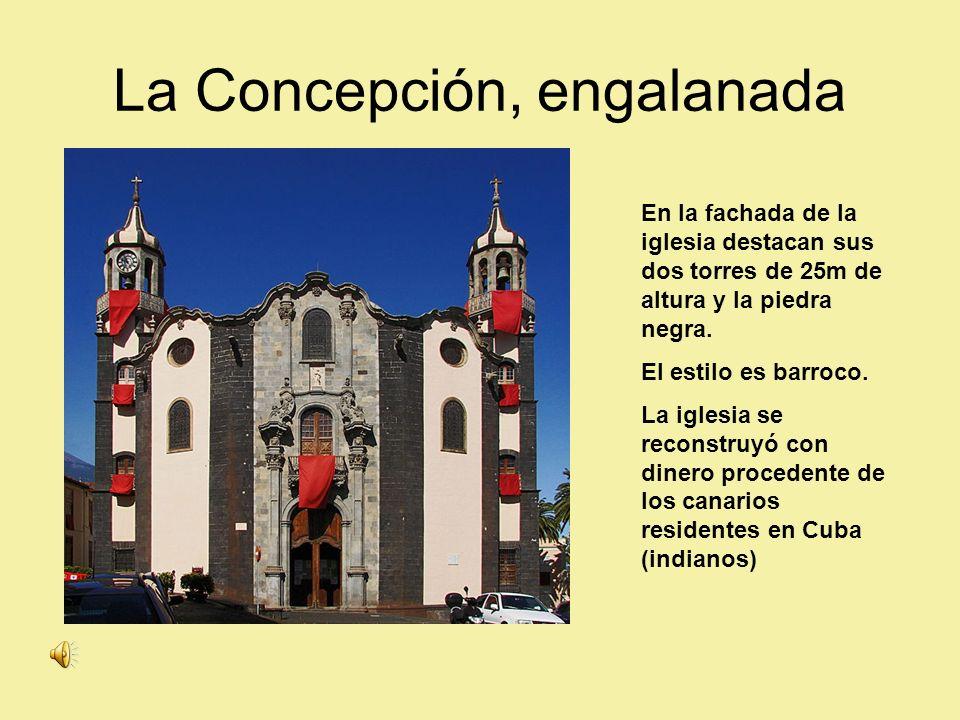 La Concepción, engalanada