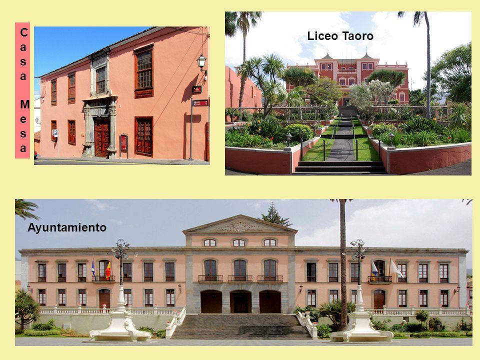 C asa Mesa Liceo Taoro Ayuntamiento