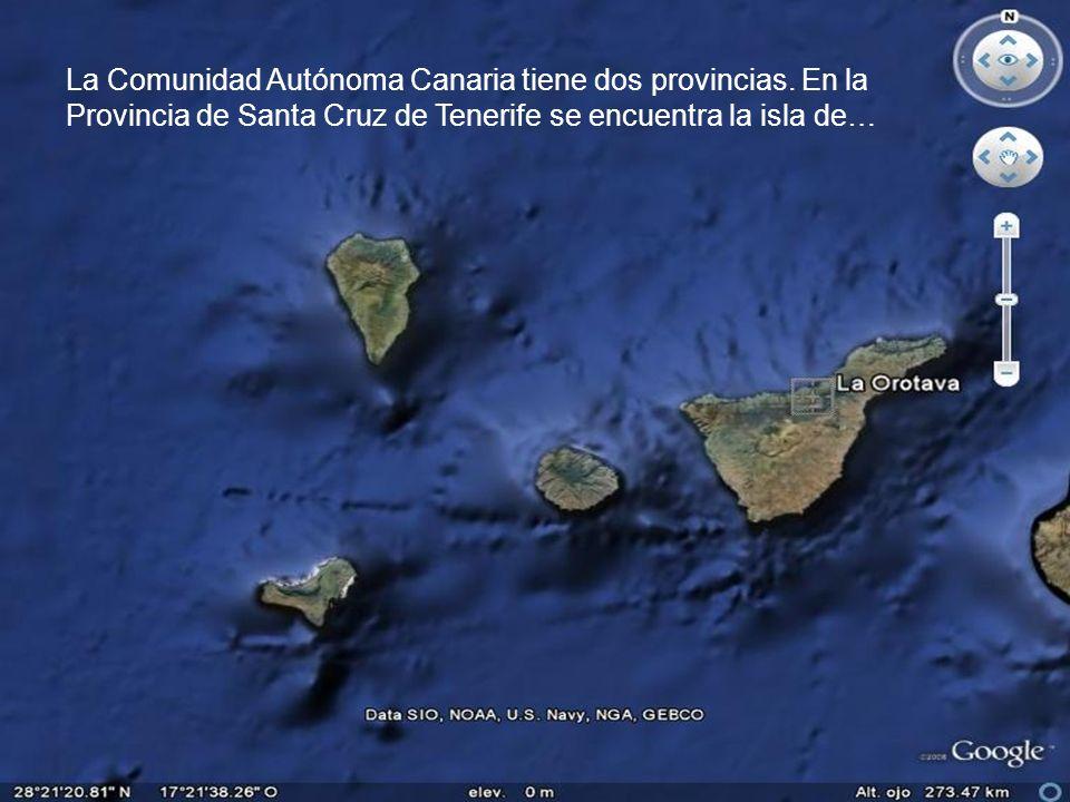 La Comunidad Autónoma Canaria tiene dos provincias