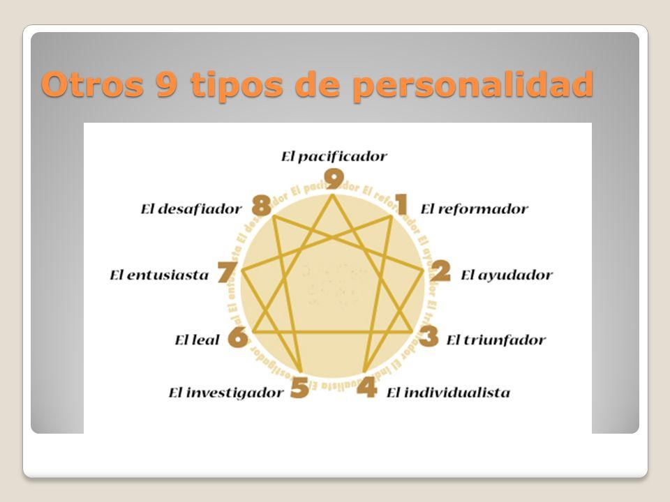 Otros 9 tipos de personalidad