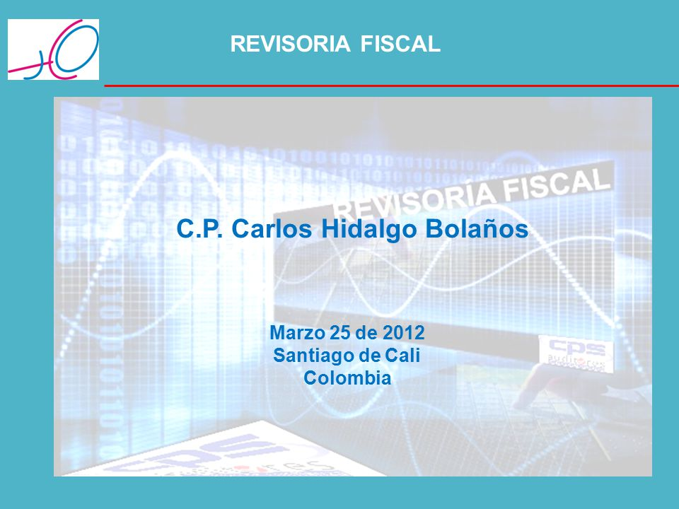 C.P. Carlos Hidalgo Bolaños