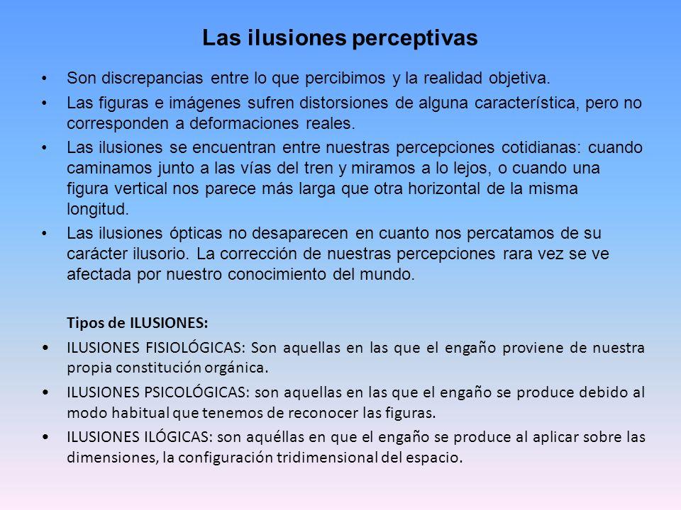Las ilusiones perceptivas