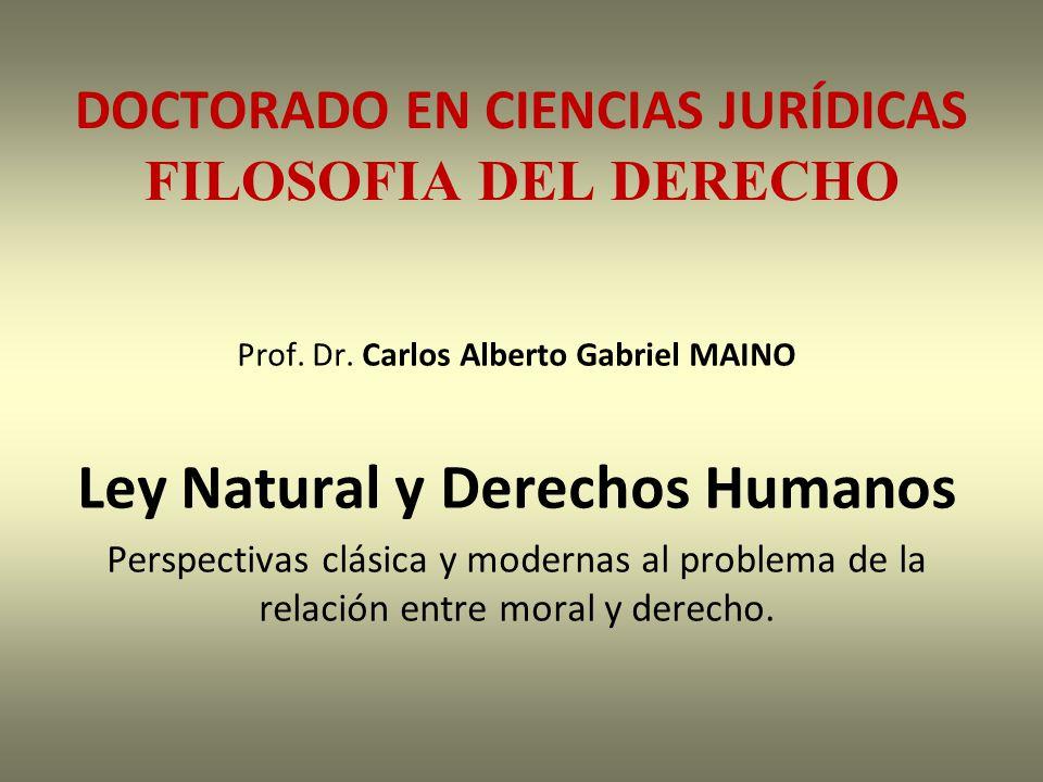DOCTORADO EN CIENCIAS JURÍDICAS FILOSOFIA DEL DERECHO