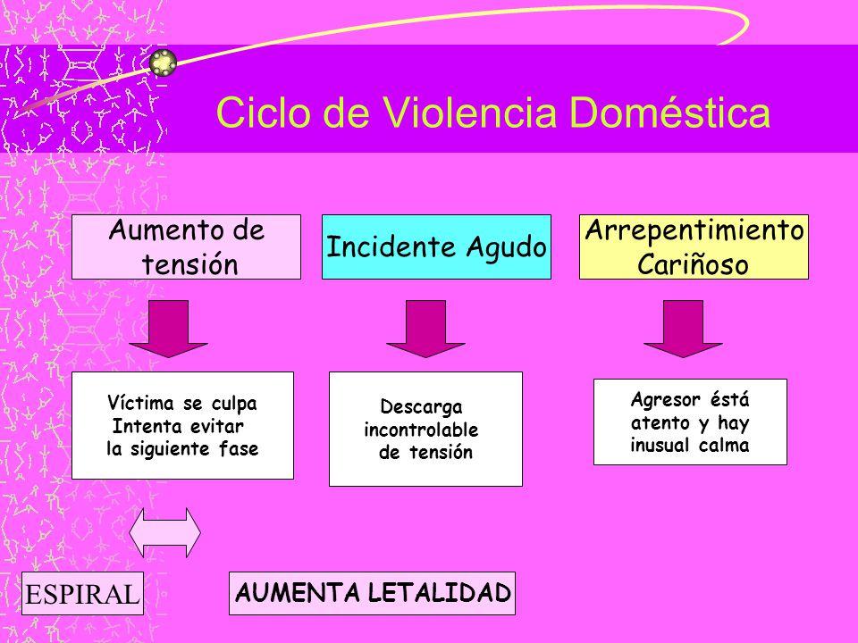 Ciclo de Violencia Doméstica