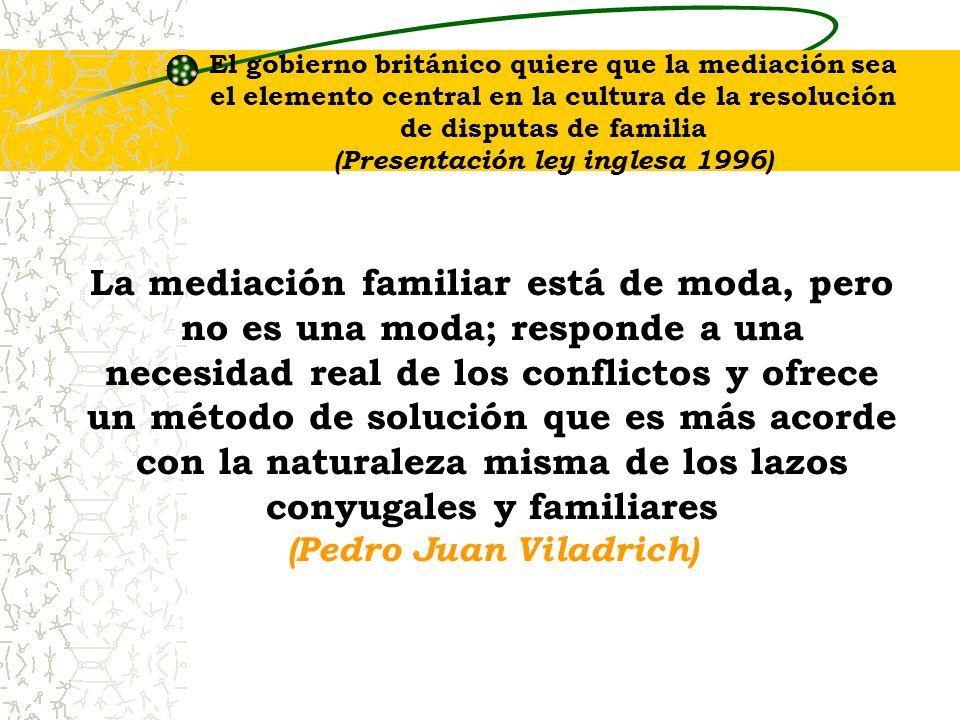 (Presentación ley inglesa 1996) (Pedro Juan Viladrich)