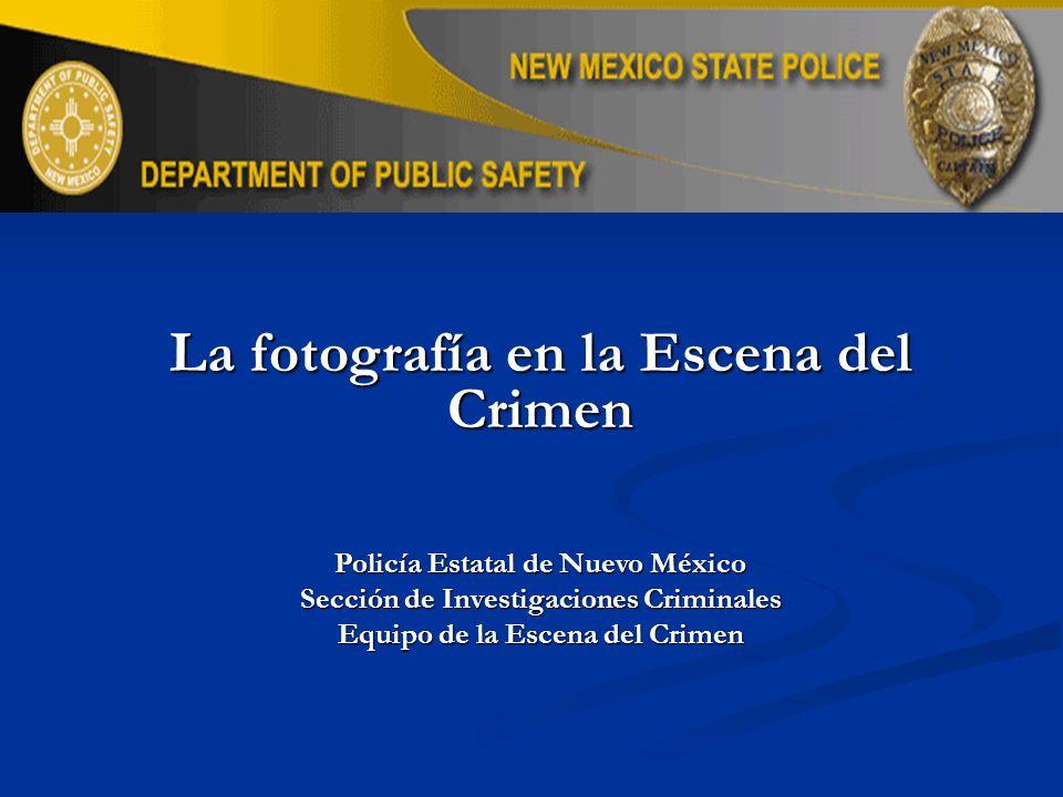 La fotografía en la Escena del Crimen