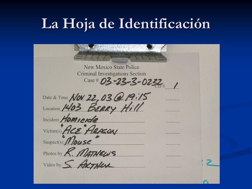 La Hoja de Identificación