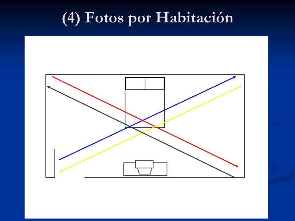 (4) Fotos por Habitación