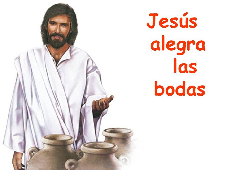 Jesús alegra las bodas