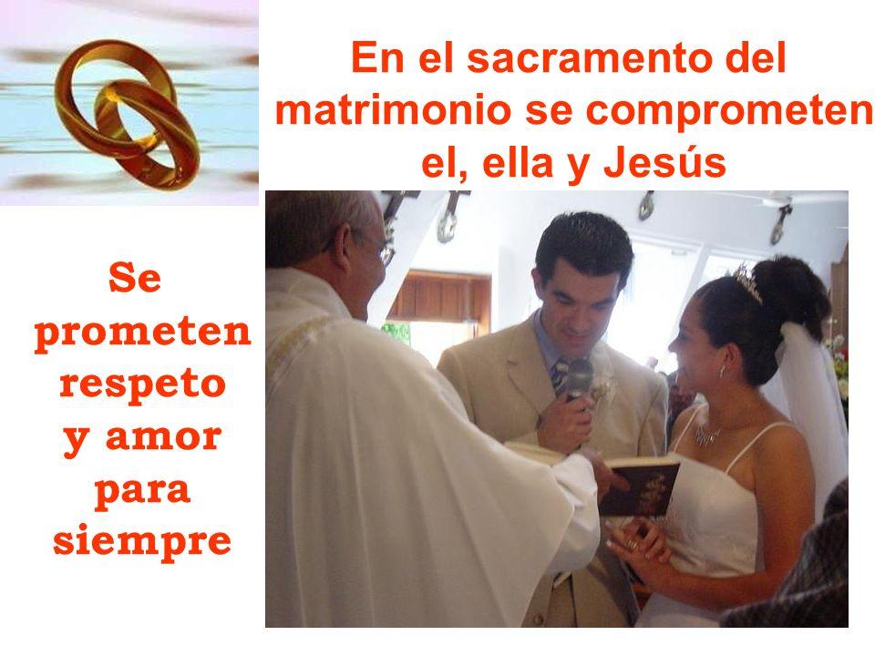 matrimonio se comprometen