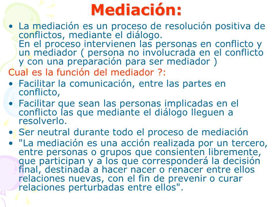 Mediación: