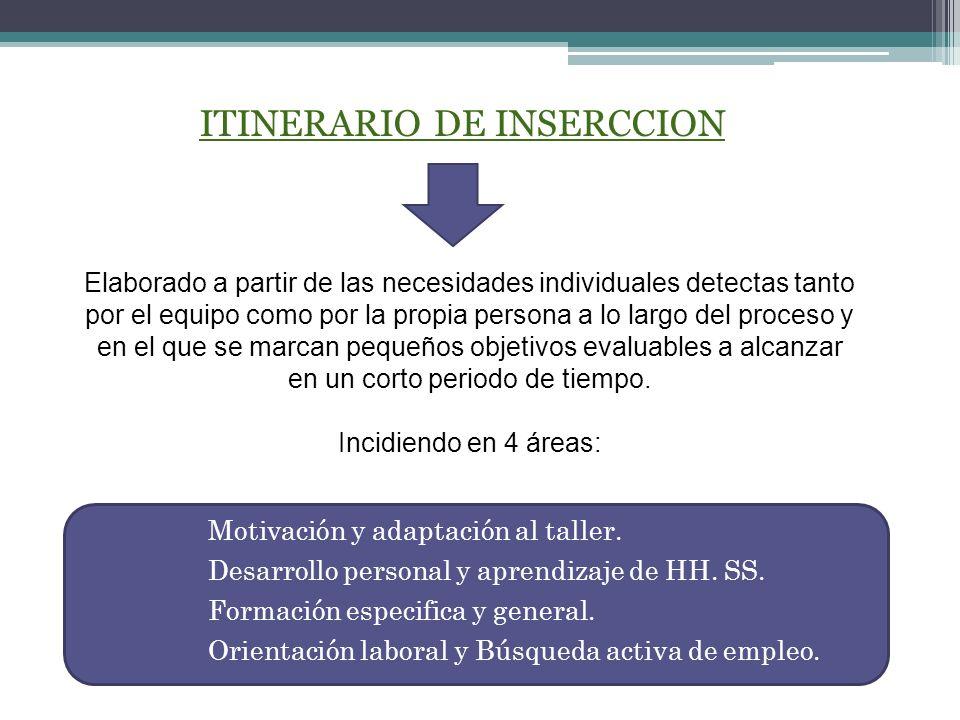 ITINERARIO DE INSERCCION