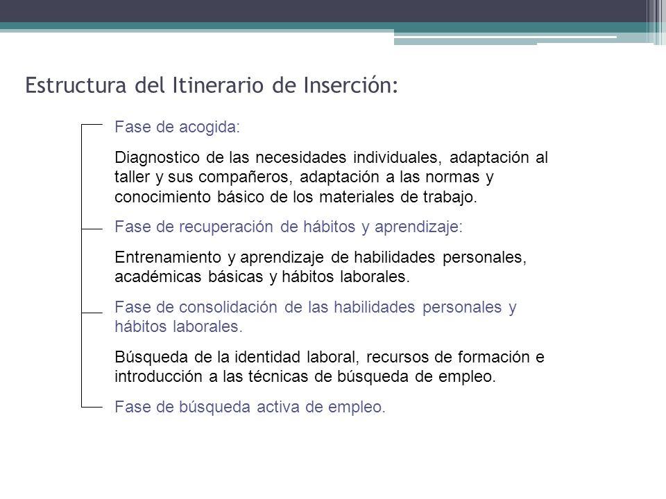 Estructura del Itinerario de Inserción:
