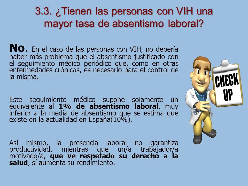 3.3. ¿Tienen las personas con VIH una mayor tasa de absentismo laboral