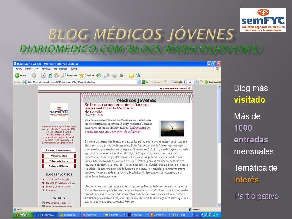 Blog médicos jóvenes diariomedico.com/blogs/medicosjovenes/