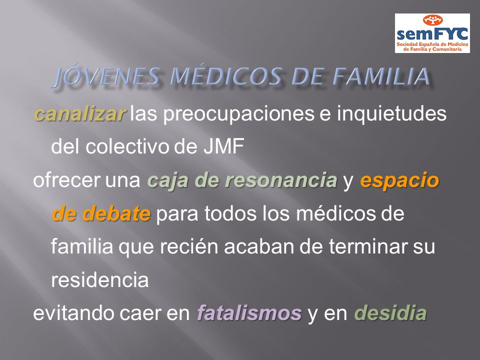 Jóvenes Médicos de Familia