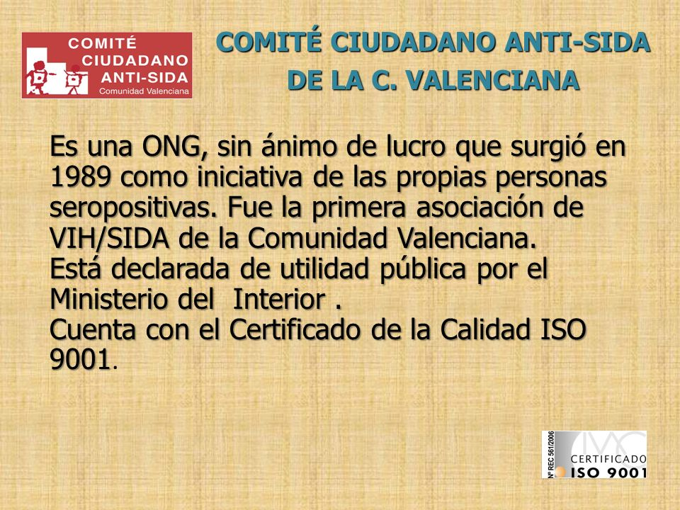 COMITÉ CIUDADANO ANTI-SIDA