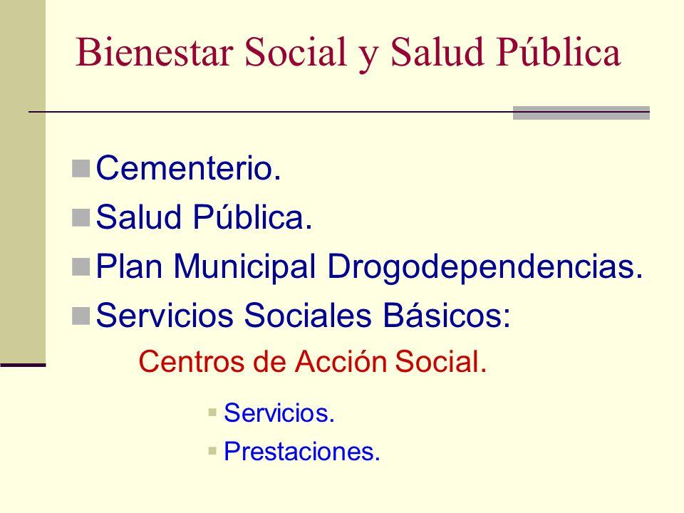Bienestar Social y Salud Pública