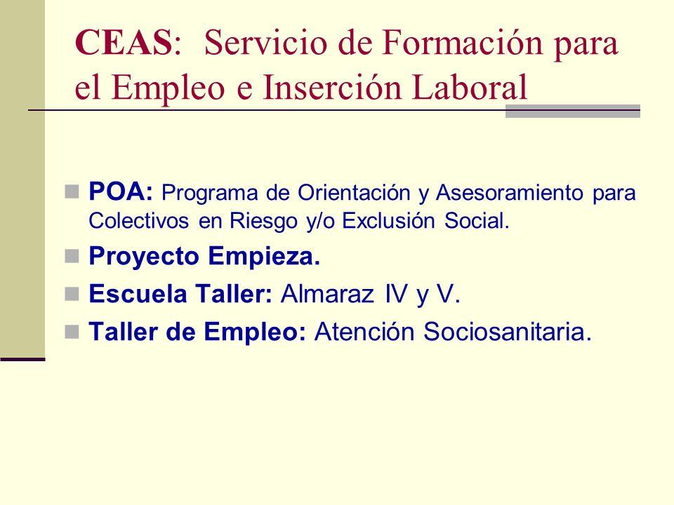 CEAS: Servicio de Formación para el Empleo e Inserción Laboral