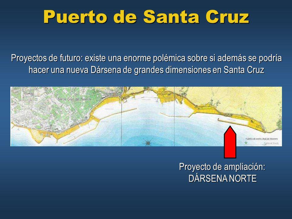 Puerto de Santa Cruz Proyectos de futuro: existe una enorme polémica sobre si además se podría.