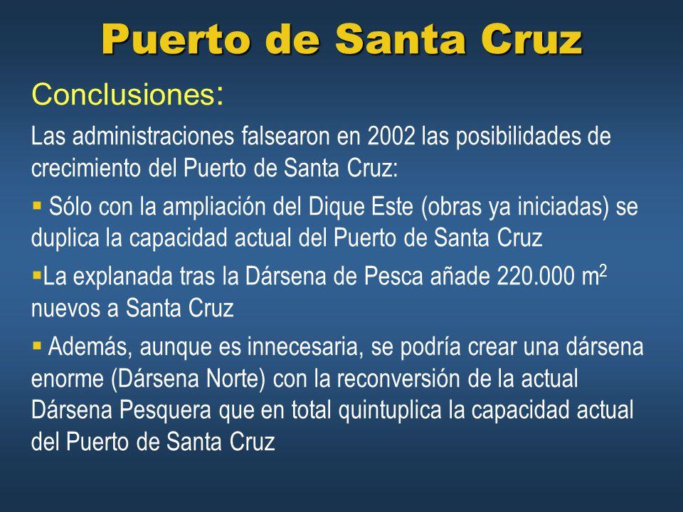 Puerto de Santa Cruz Conclusiones: