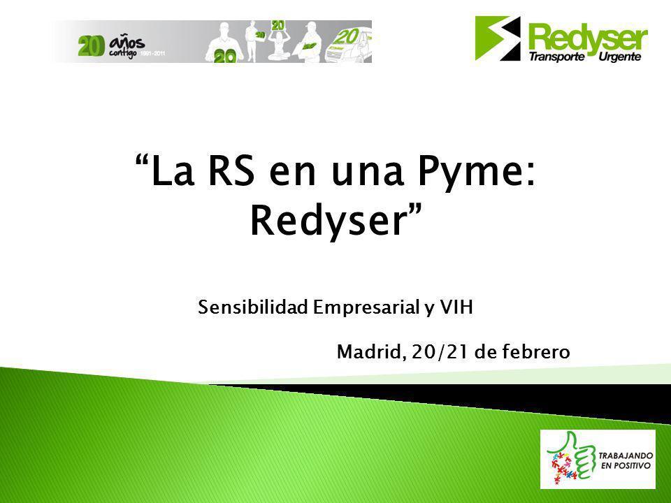La RS en una Pyme: Redyser Sensibilidad Empresarial y VIH