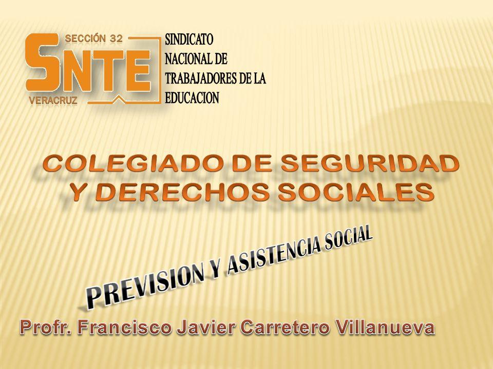 COLEGIADO DE SEGURIDAD Y DERECHOS SOCIALES