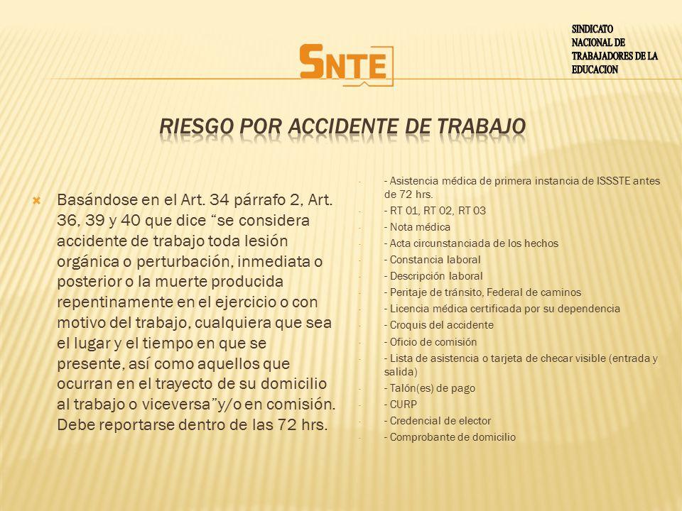 RIESGO POR ACCIDENTE DE TRABAJO