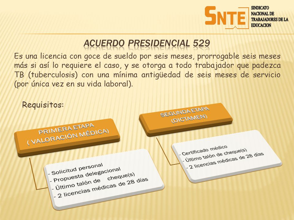 ACUERDO PRESIDENCIAL 529 PRIMERA ETAPA ( VALORACIÓN MÉDICA)
