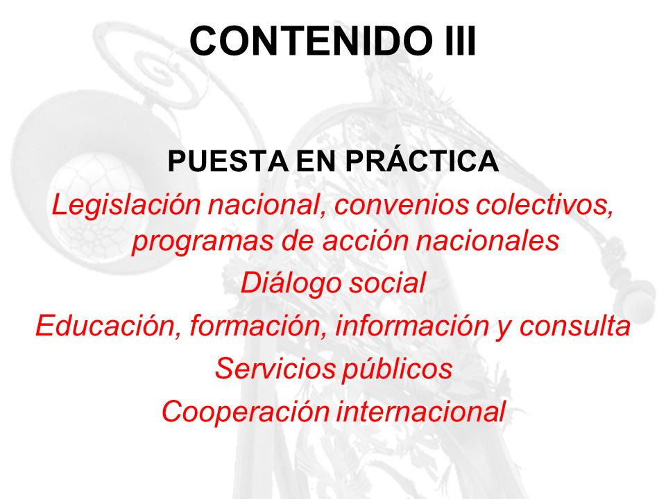 CONTENIDO III PUESTA EN PRÁCTICA