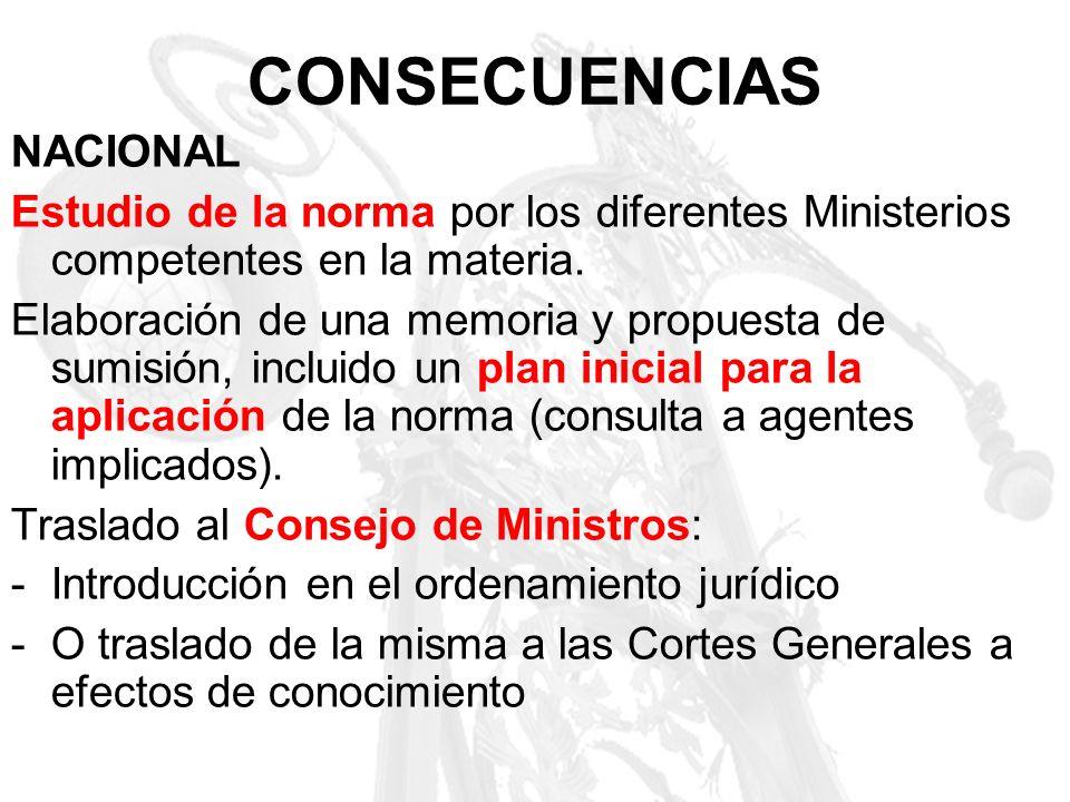 CONSECUENCIAS NACIONAL