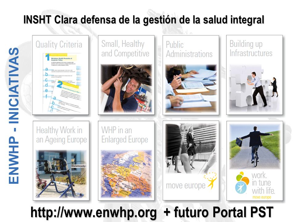 http://www.enwhp.org + futuro Portal PST