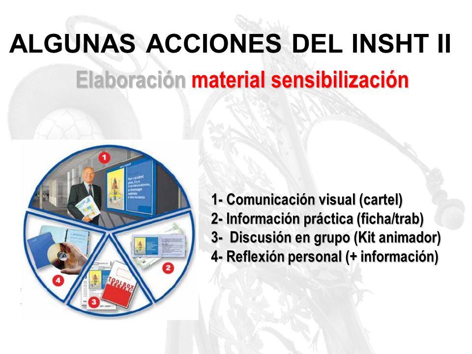 ALGUNAS ACCIONES DEL INSHT II