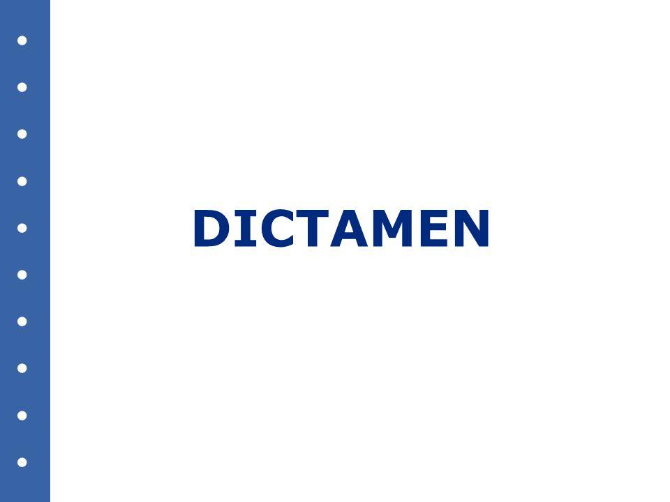 DICTAMEN