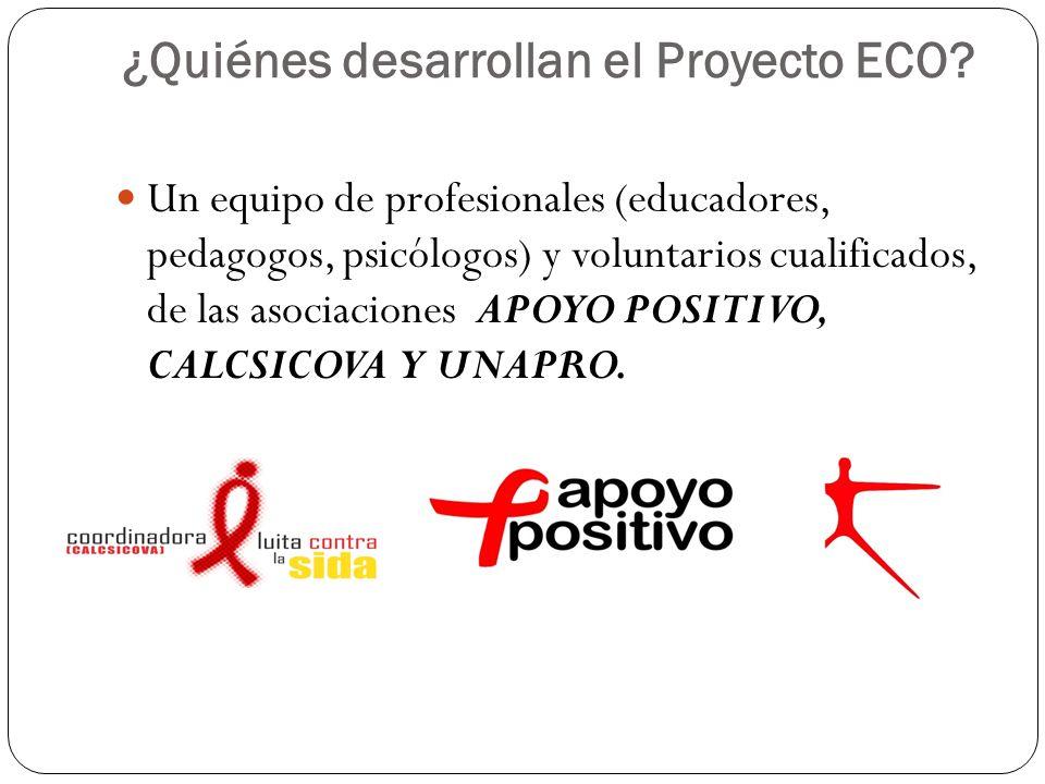 ¿Quiénes desarrollan el Proyecto ECO