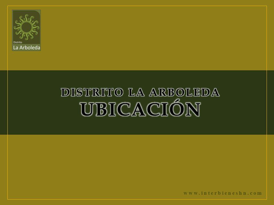 DISTRITO LA ARBOLEDA UBICACIÓN