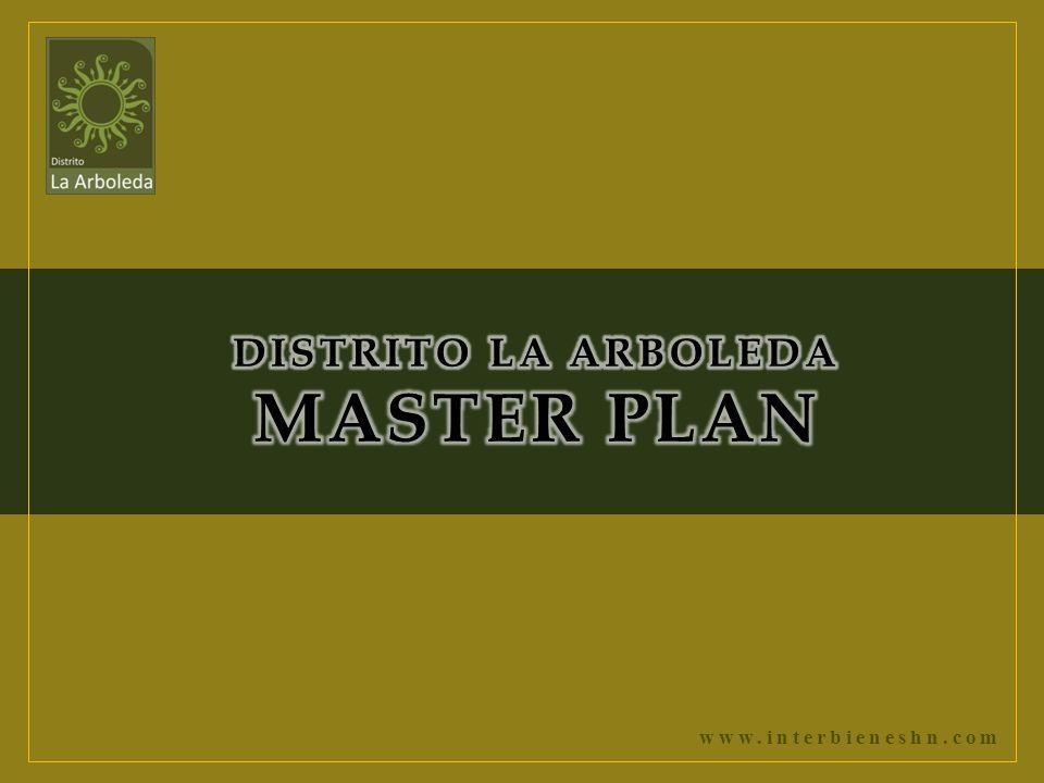 DISTRITO LA ARBOLEDA MASTER PLAN
