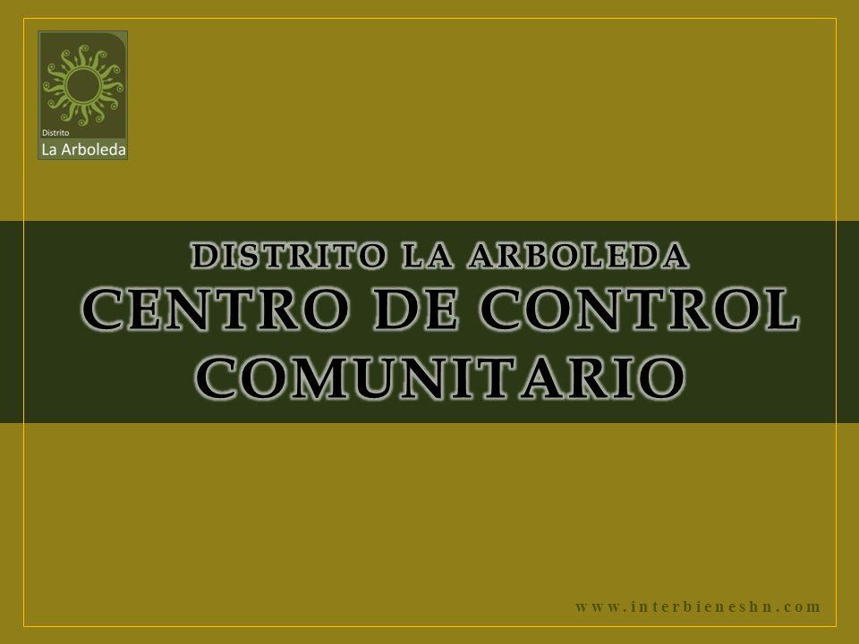 DISTRITO LA ARBOLEDA CENTRO DE CONTROL COMUNITARIO