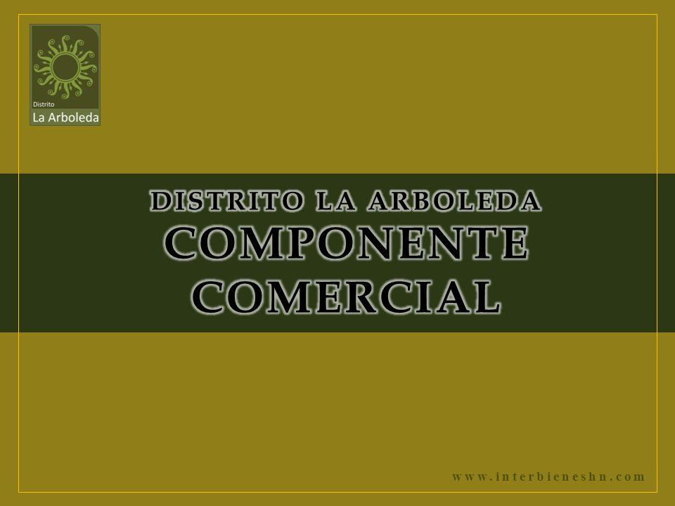 DISTRITO LA ARBOLEDA COMPONENTE COMERCIAL