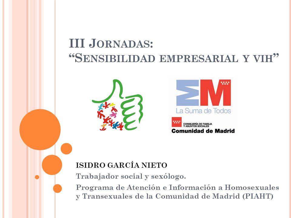 III Jornadas: Sensibilidad empresarial y vih