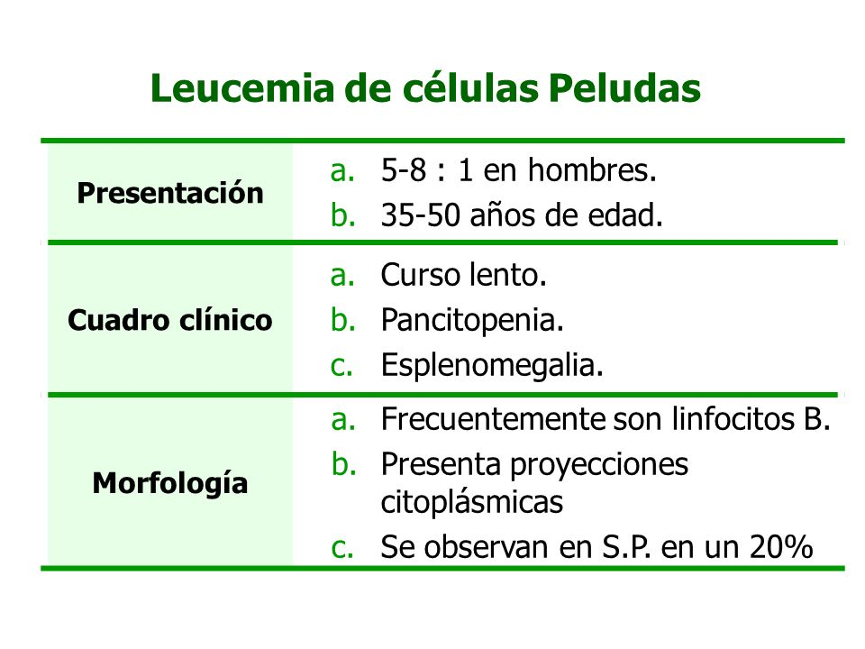 Leucemia de células Peludas