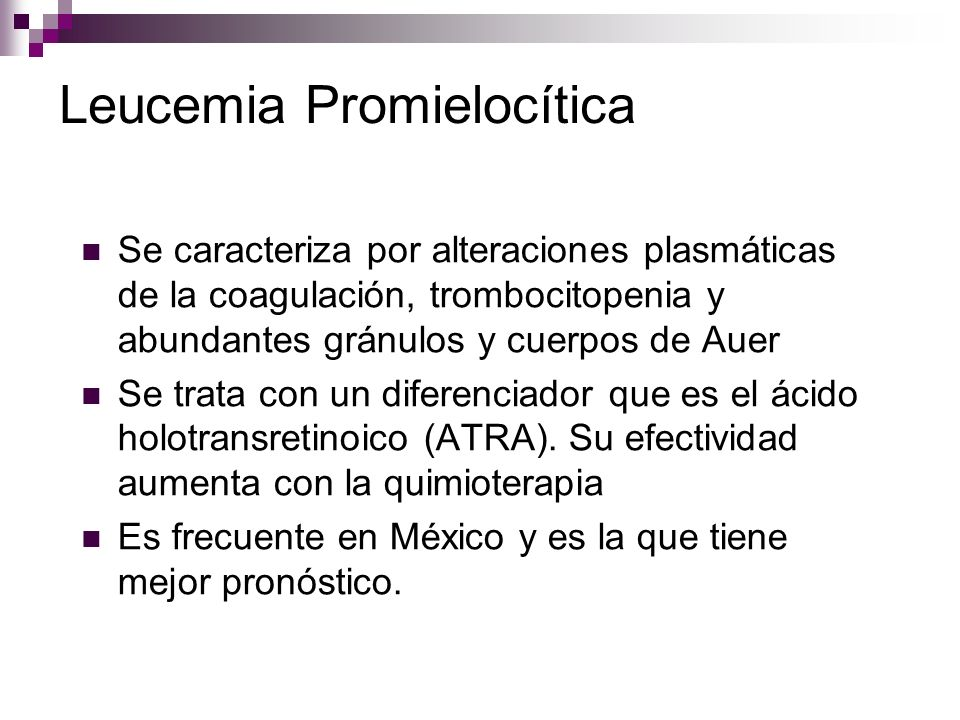 Leucemia Promielocítica