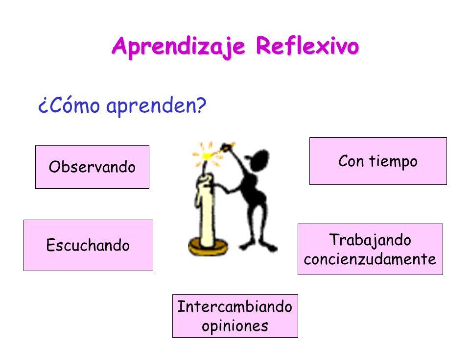 Aprendizaje Reflexivo