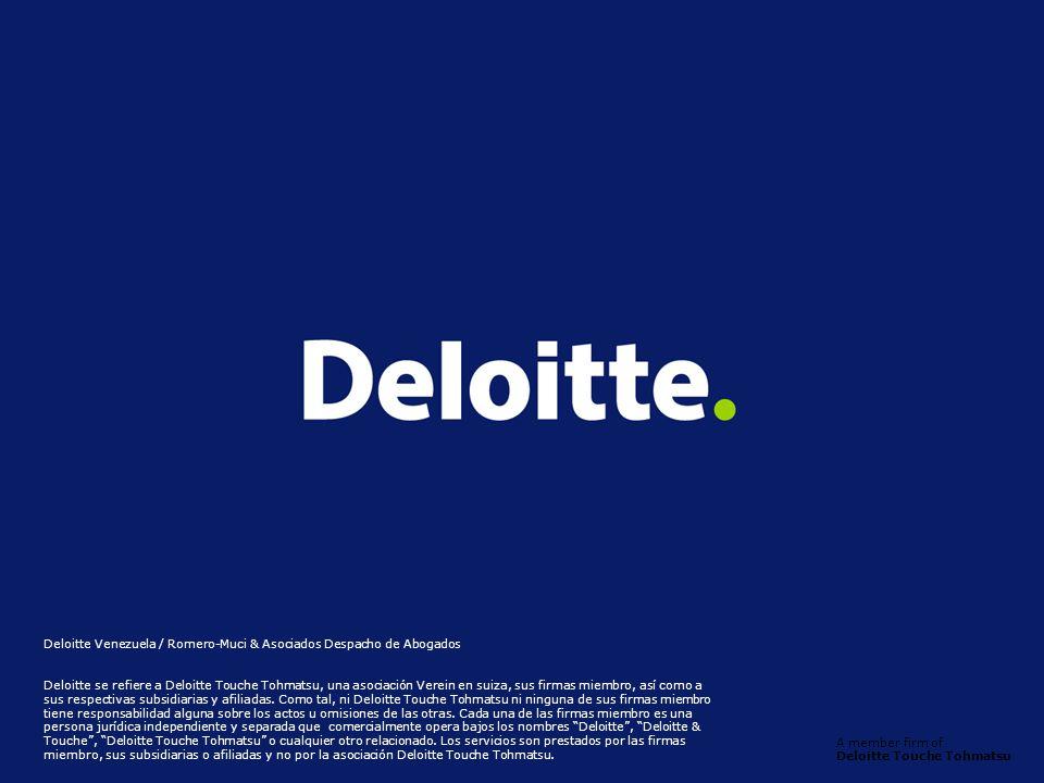 Deloitte Venezuela / Romero-Muci & Asociados Despacho de Abogados