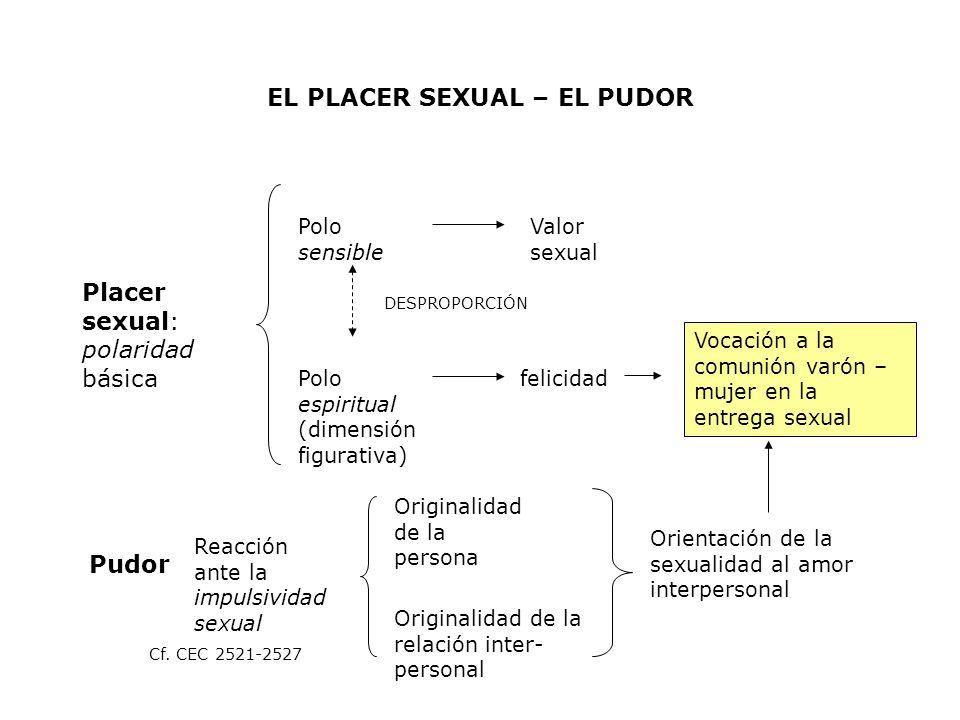 EL PLACER SEXUAL – EL PUDOR