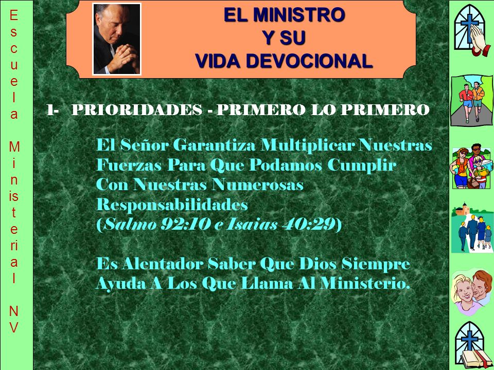 EL MINISTRO Y SU VIDA DEVOCIONAL
