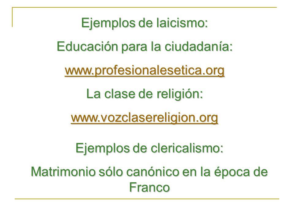 Educación para la ciudadanía: www.profesionalesetica.org